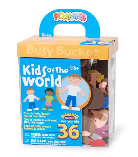 Kids of the World Foam Activity Kit