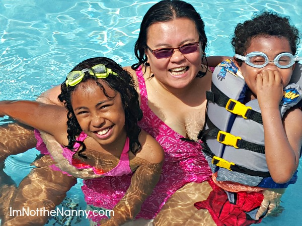 Swimming with kids via I'm Not the Nanny