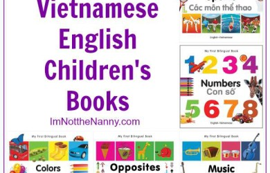 Bilingual Vietnamese English Children's Books via I'm Not the Nanny