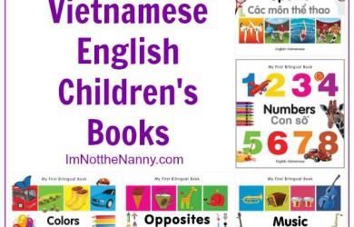 Bilingual Vietnamese English Children's Books via I'm Not the Nanny