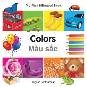 Colors English-Vietnamese Bilingual Book