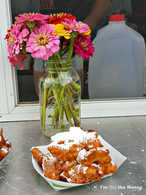 Apple Fritters from Larriland