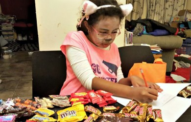 Cataloging Halloween Candy