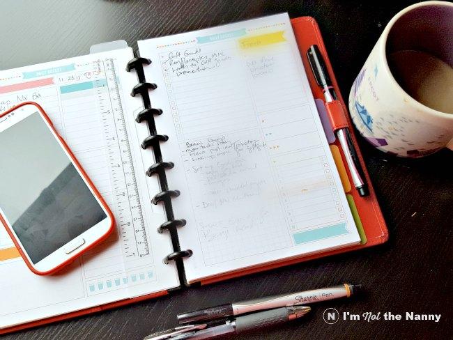 DIY Planner with discbound