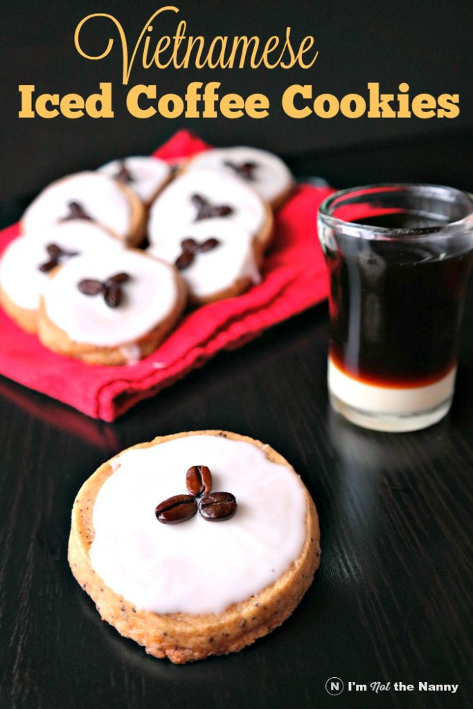 Vietnamese Iced Coffee Cookies via I'm Not the Nanny