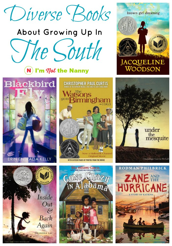 Diverse Books About Growing Up in the South #diversebooks #ReadYourWorld
