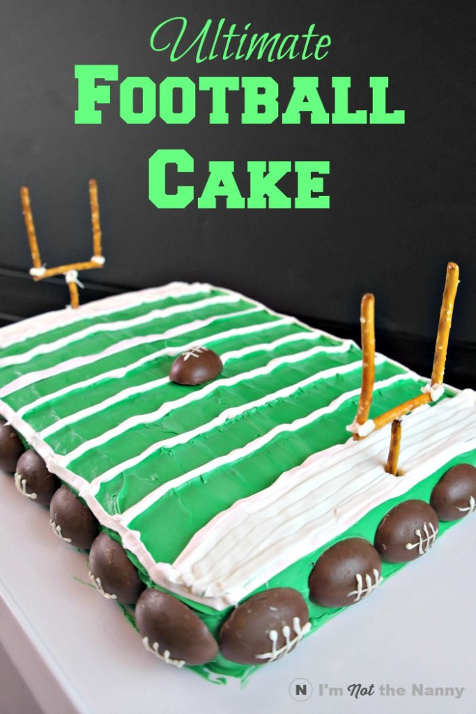 Football Field Cake Tutorial