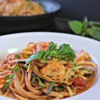 Linguine with Spicy Tuna Marinara
