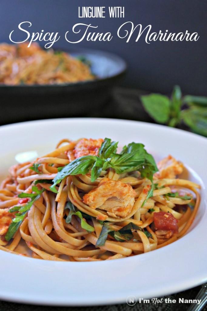 Linguine with Spicy Tuna Marinara recipe