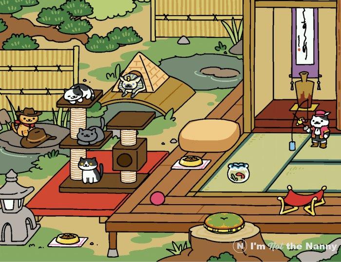 pictures of neko atsume cats