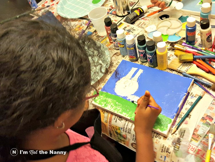 Sophia painting