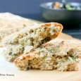No Knead Whole Wheat Basil Bread