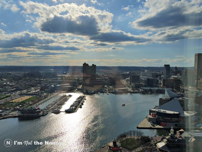 Baltimore Inner Harbor in spring