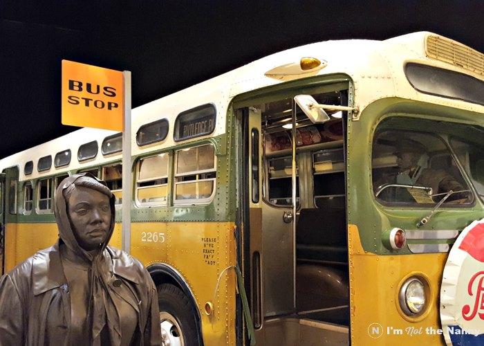 Montgomery Bus Boycott Exhibit at NCR