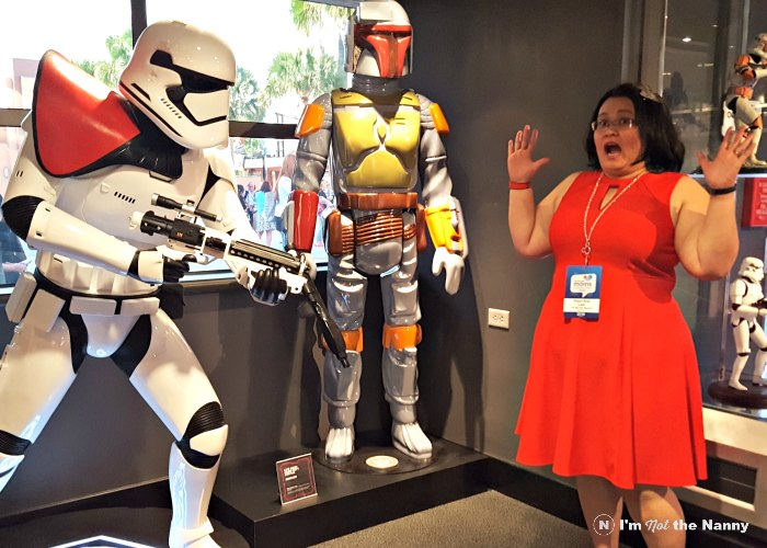Attacked at Star Wars Launch Bay