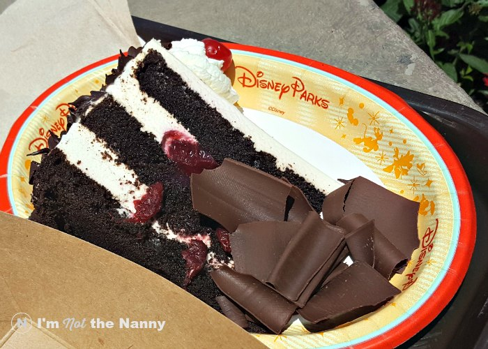 Black Forest Cake Epcot Germany