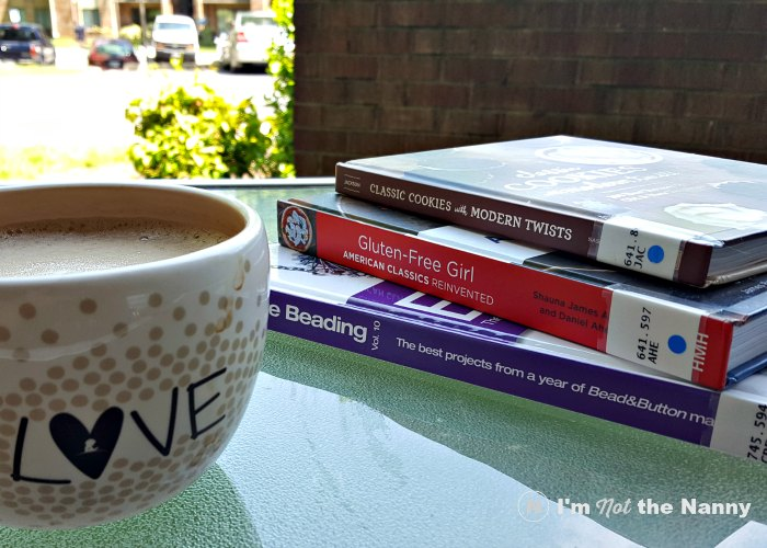 Cookbooks and coffee