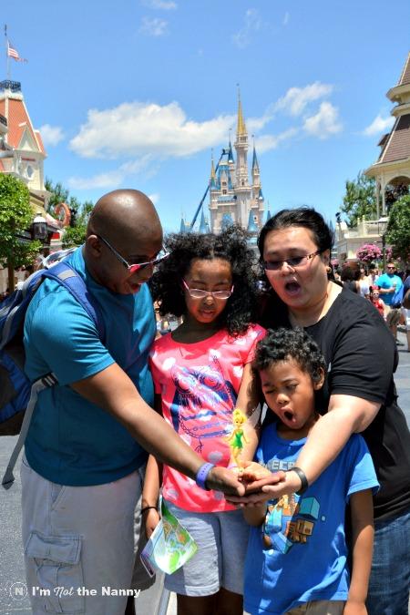 Family at Magic Kindgom