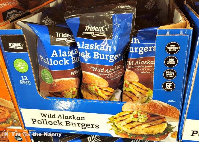 Trident Alaskan Pollock Burgers