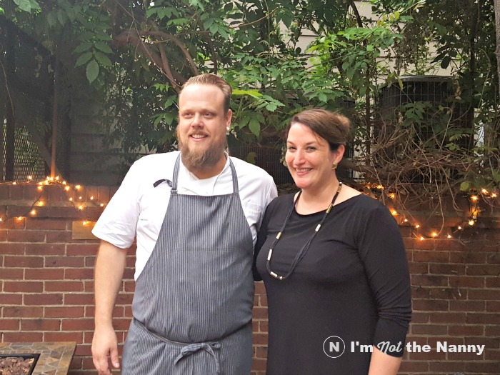 Chef Tony Chittum & Chime founder Genevieve Thiers