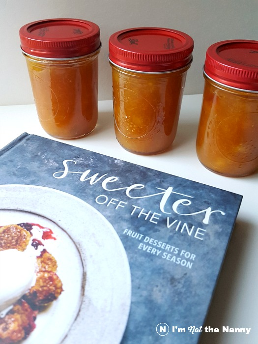 Peach Jam inspired by Sweeter Off the Vine by Yossy Arefi
