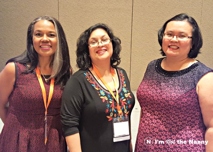 Toni Tipton-Martin, Rashda Khan and Thien-Kim Lam at BlogHer Food 2016