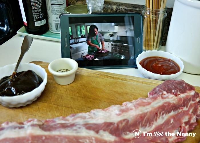 Watching Anita Lo on Panna Cooking