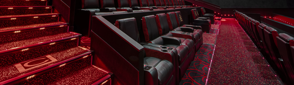 Reclining seats at Dolby Cinema at AMC