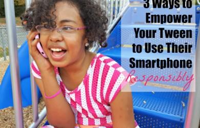 Empowering Your Tween on Responsible Smartphone Use