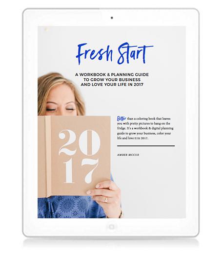 Fresh Start Workbook