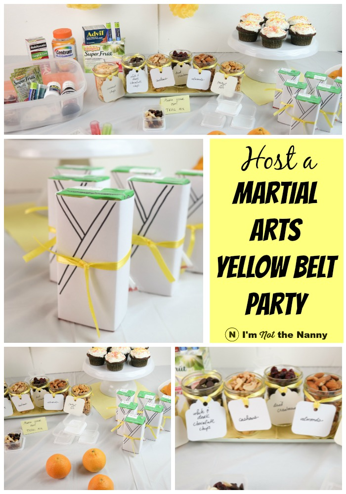 Martial Arts Yellow Belt Promotion Party