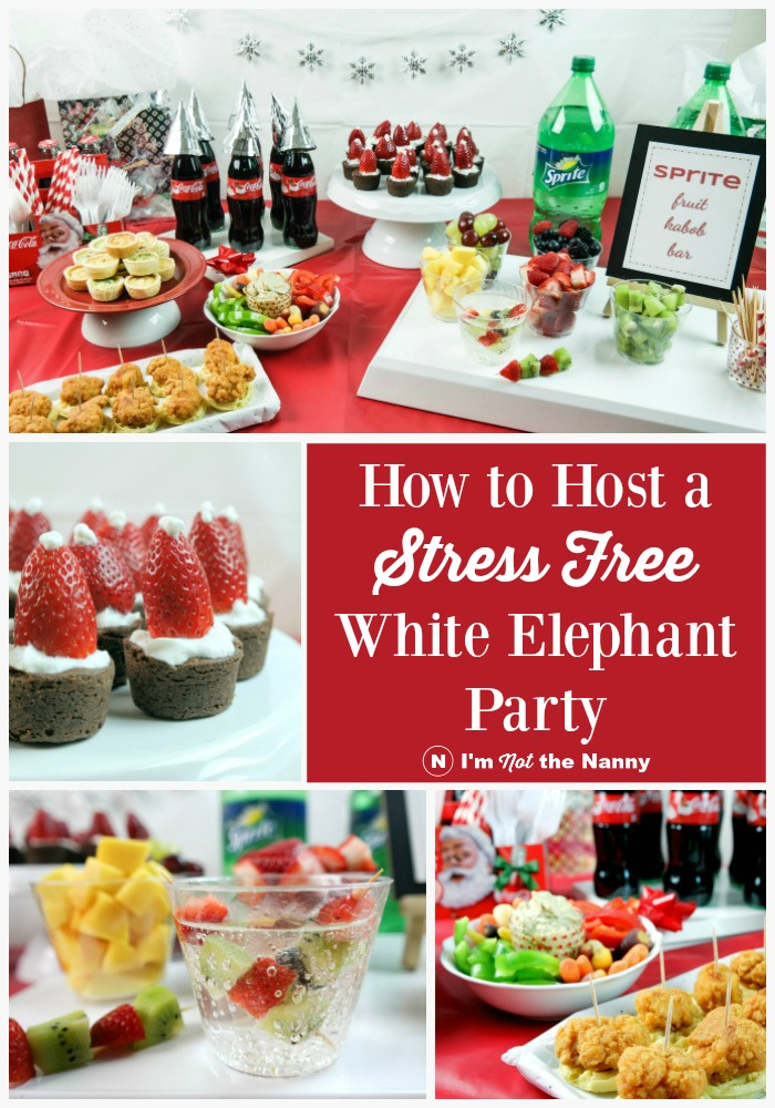 How to Host a Stress Free White Elephant Party