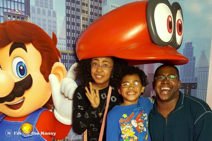 Photo with Mario's Hat