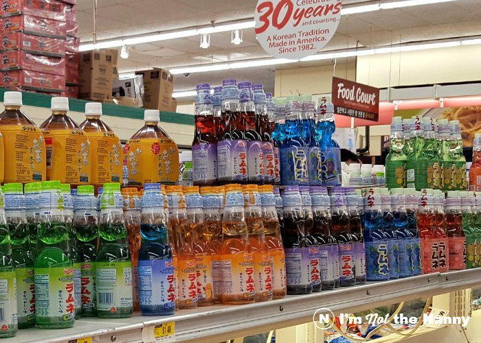 Ramune soda at Hmart