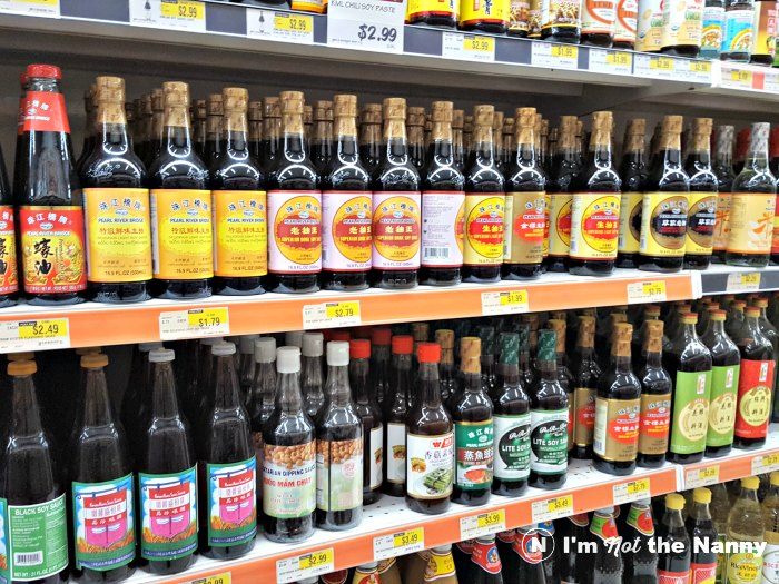 Soy Sauces at Hmart