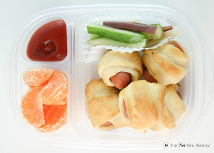 Pigs In a Blanket Lunch Box