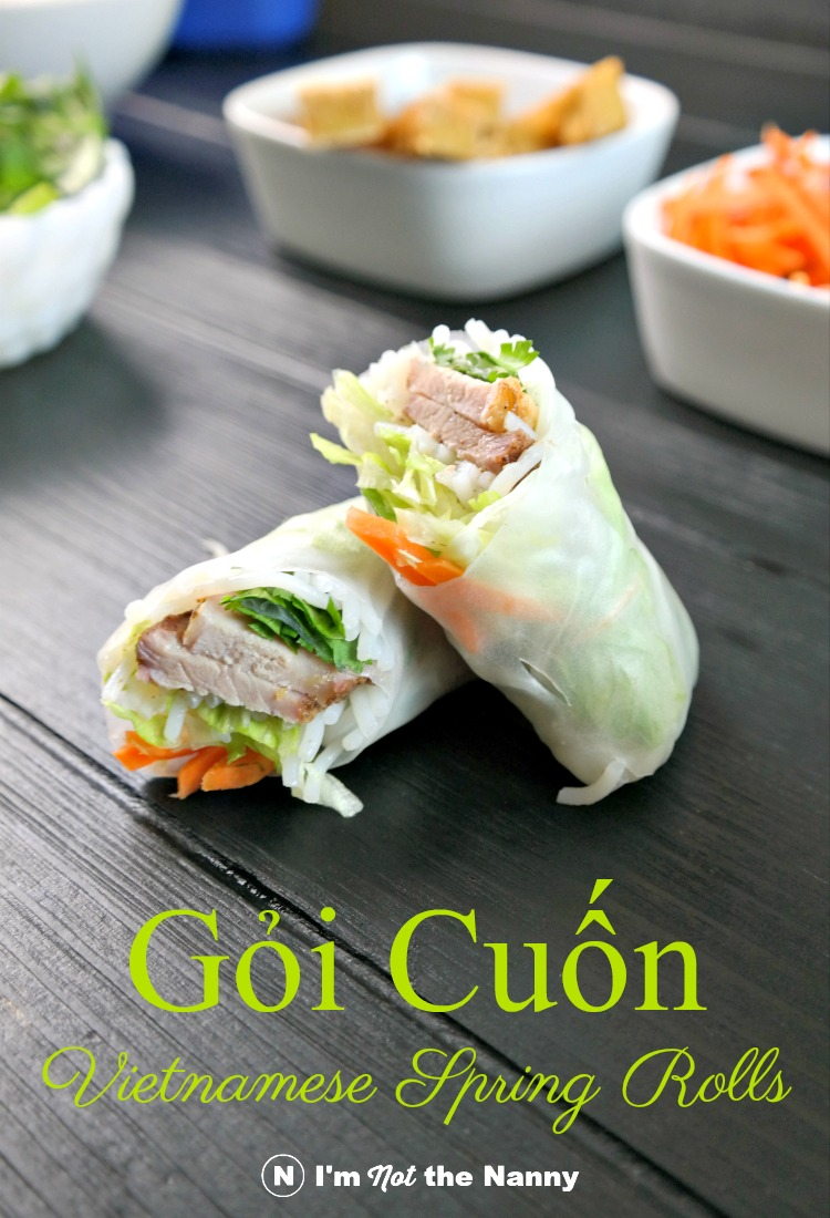 Step-by-step tutorial on how to assemble and roll Gỏi cuốn Vietnamese Spring Rolls
