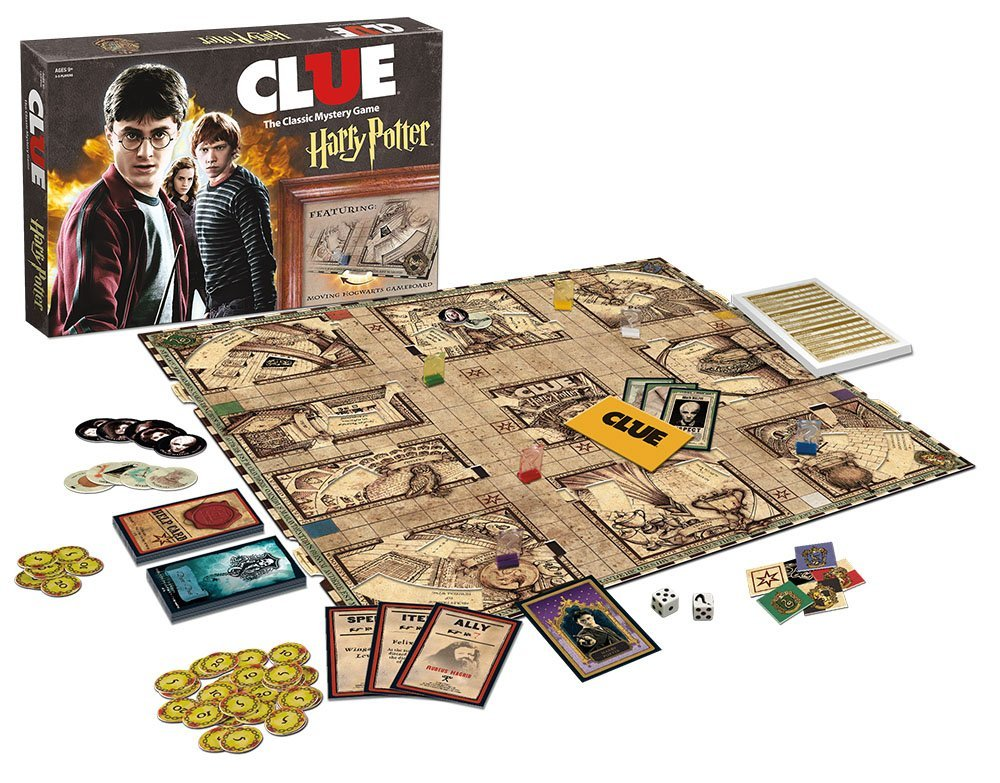 Harry Potter Clue