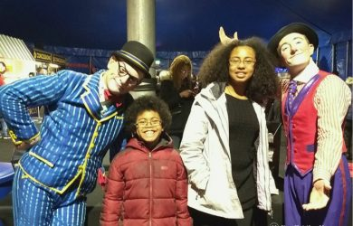 Clowns at Big Apple Circus