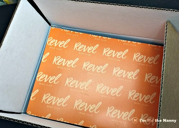 Revel Wine Unboxing