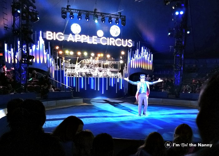 Ringmaster at Big Apple Circus