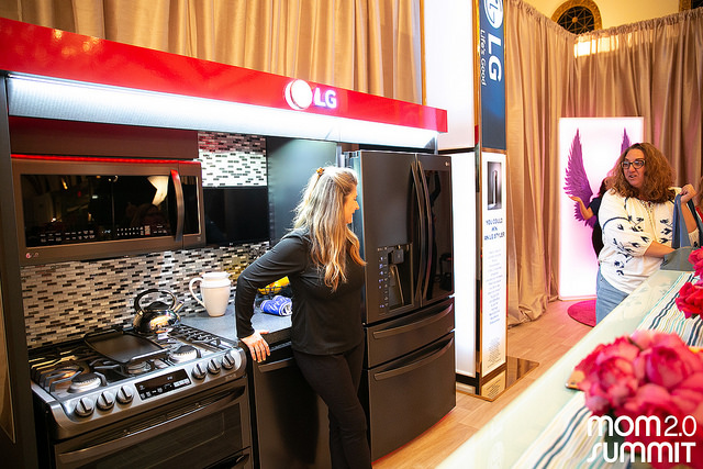 LG Smart Kitchen at Mom 2.0 Summit