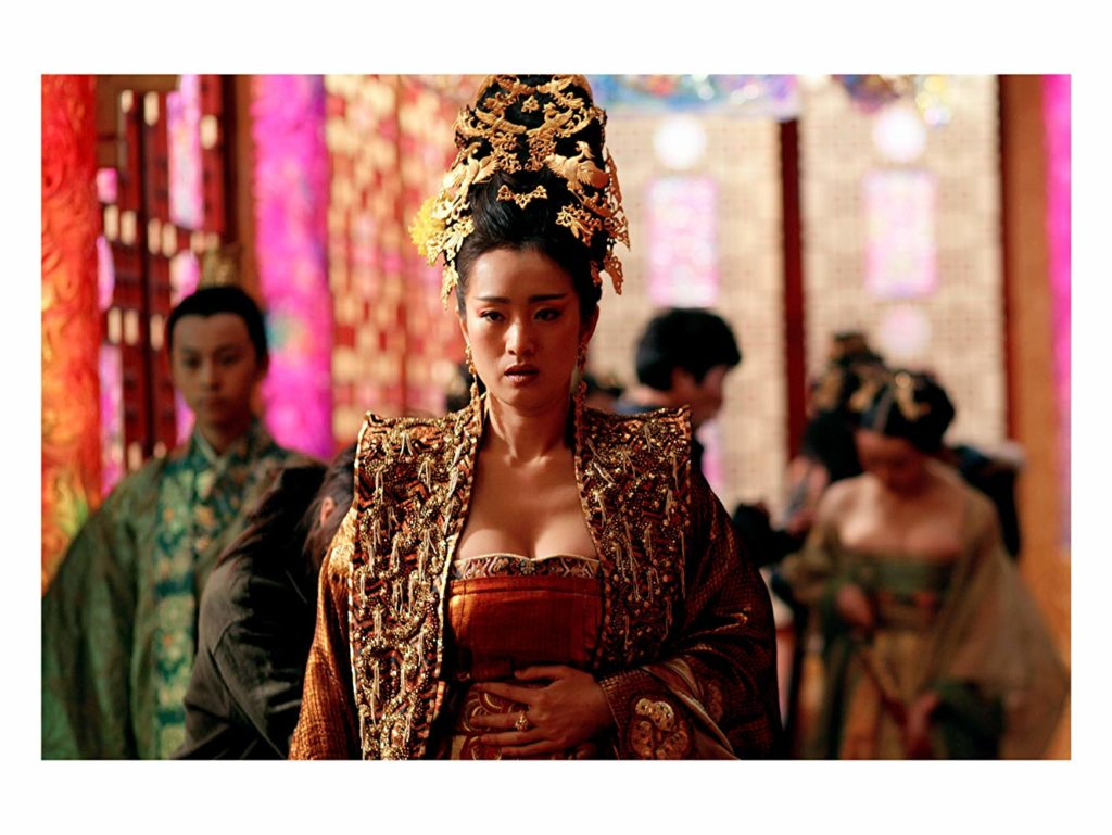 Gong Li in Curse of the Golden Flower