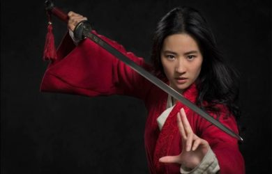 Liu Yifei as Hua Mulan