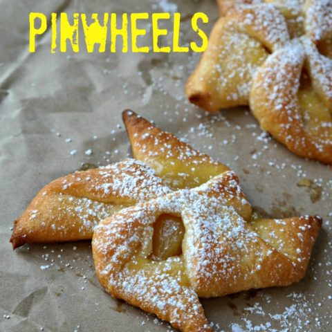 2 Ingredient Lemon Curd Pinwheels
