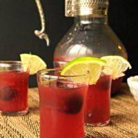 Balsamic Cherry Puree