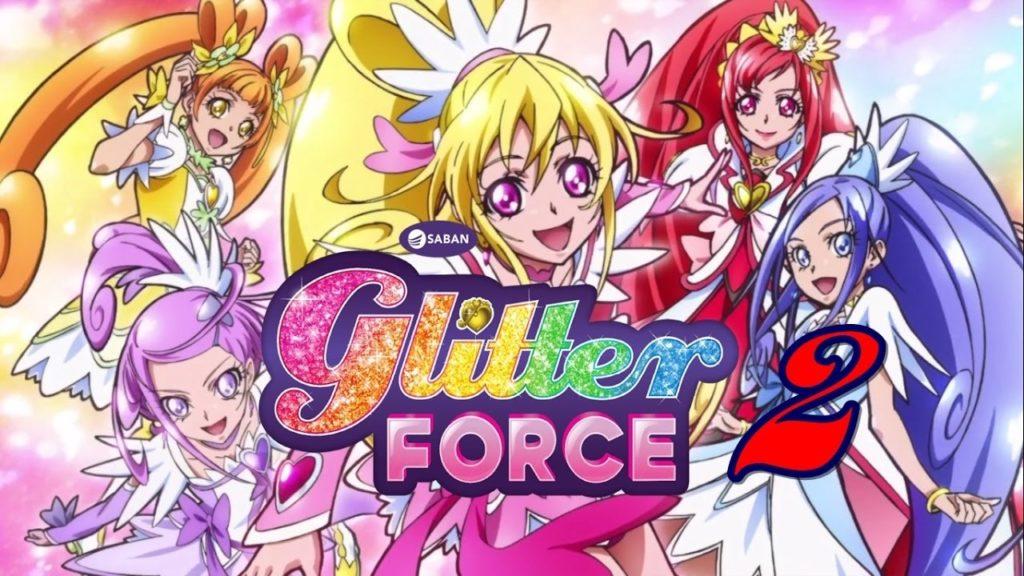Glitter Force Anime
