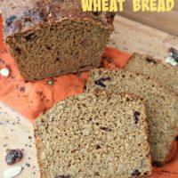 No-Knead Chia Seed Whole Wheat Bread
