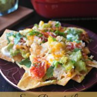Spicy Pineapple Lime Chicken Nachos