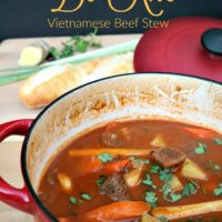 Vietnamese Beef Stew (Bò Kho)